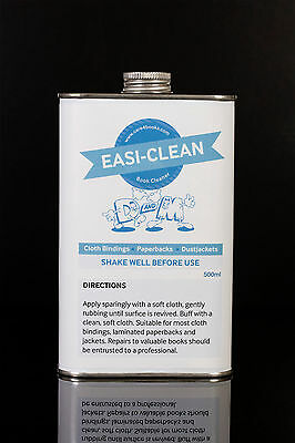 EASI-CLEAN BOOK CLOTH CLEANER for books, jackets etc 500ml