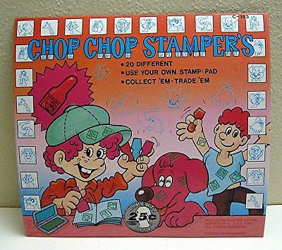 Chop Chop Stampers Old Gumball Vending Machine Toy Sign
