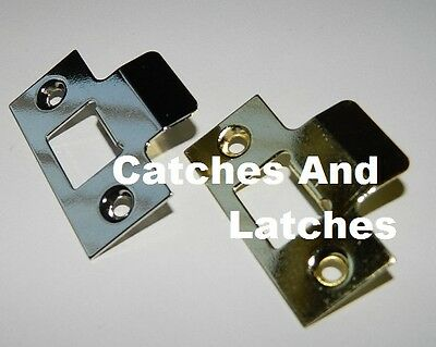 STRIKE PLATE For use with Tubular Mortice Door Latch