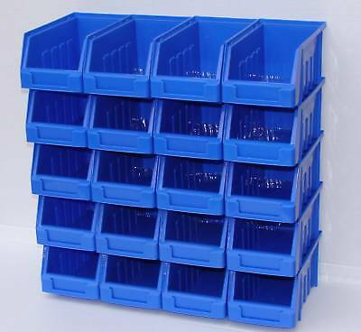 60 Storage Bins Kit Wall Or Stack  Garage Home Workshop