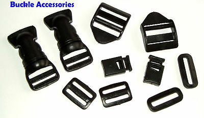 Quick Release Buckle Accessories Adjuster Loop All Size