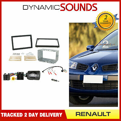 CTKRT01 Double Din CD Stereo Fitting Kit For Renault Megane (2006-2008)