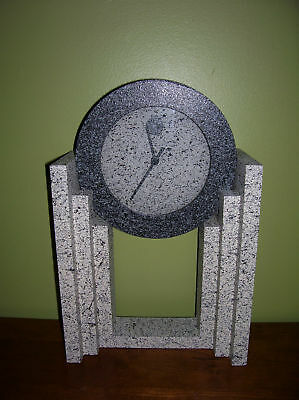 RARE ARCHITECTURAL STYLE CLOCK -Retro Empire Art Products Co., Inc.- VINTAGE