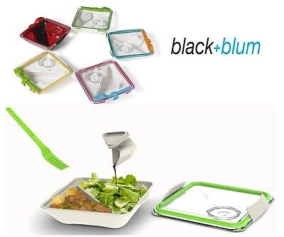 Black & Blum Box Appetit Lunch Box Lime Red Blue, All Colours