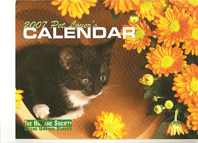 Calendar 2007 Pet Lover's by The Humane Society