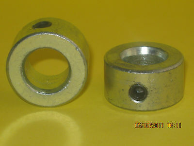 """One Pair Of Anti-Theft Security Gate Hinge Pin Collars to suit 12mm (1/2"""") pin"""
