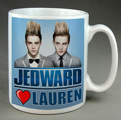 Jedward  Mug - X Factor - Personalised - Your Name, New