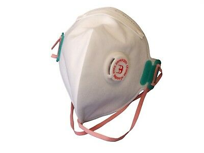 B-Brand Ff P2 Fold Flat Dust Mask 60 Pack Free Postage!