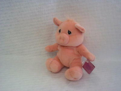Enesco Precious Moments Tendertails Pig Plush Animal