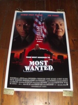 MOST WANTED Original Poster 27 X 41