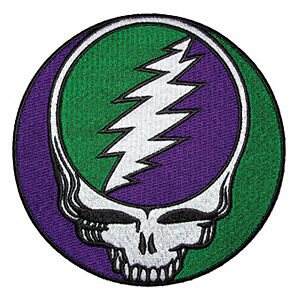 New, THE GRATEFUL DEAD Steal Your Face Fabric MAGNET