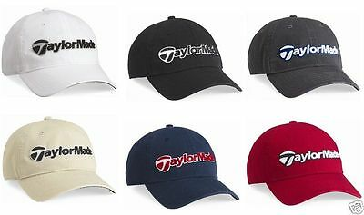 TaylorMade GOLF Mens Tradition Baseball Cap RUGBY SOCCER Hat TM30 6 COLORS NEW