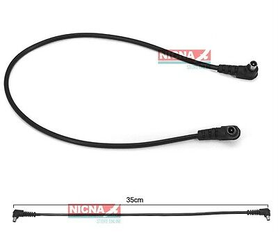 12inch 3.5mm Male to Male M-M Flash PC Sync Cord