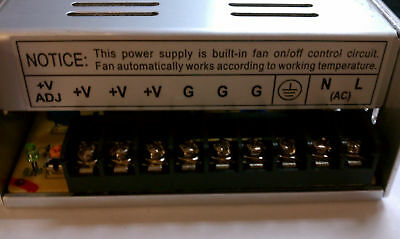 12V 30A Power Supply DC Universal Regulated Switching