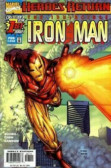 Iron Man  #1-48 complete run 1998 series