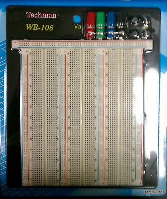 Solderless Breadboard Tie-point 2420 4 Binding Post
