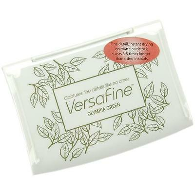 Versafine - Full Size Ink Pad - Colour Choices - Uk Free P&p On Additional Pads