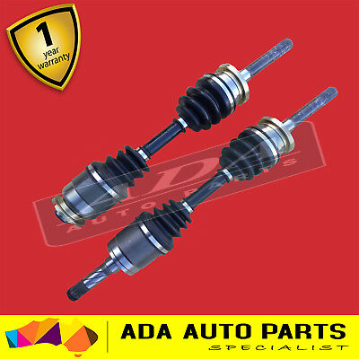 2 BRAND NEW CV JOINT DRIVE SHAFT Ford Courier 87-02 (Pair)