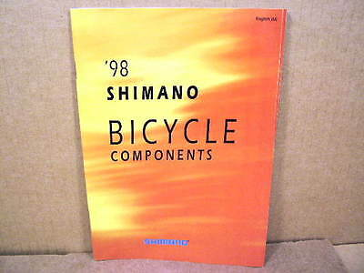 "1998 Shimano Catalog (6"" x 8"" and 56 Pages)"