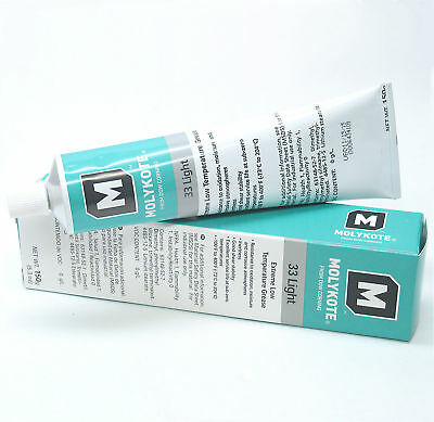 MOLYKOTE 33 LIGHT Silicone Grease Lubricant Lube 5.3 oz