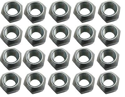 "Steel Lug Nuts 1/2"" 20pk. 1"" Socket Wheel IMCA UMP Ford Street  factory Stock"