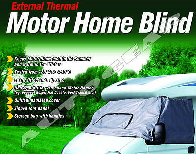 Maypole Motor Home External Thermal Blind Windscreen Shade Cover