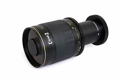 Opteka 500-1000mm f/8 HD Telephoto Mirror Lens for Canon EOS Rebel T2i T3 T3i