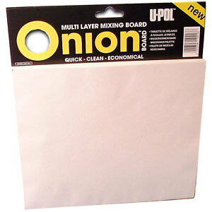 Upol Onion Board For Body Filler Mixing 100 Sheet
