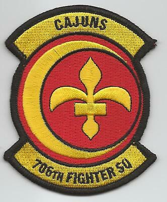 """706th FIGHTER SQUADRON """"CAJUNS"""" !!NEW!! patch"""