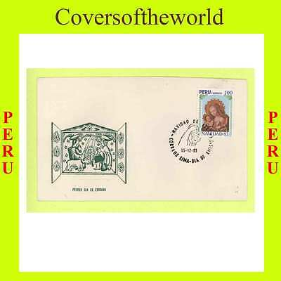 Peru 1983 Christmas Issue  First Day Cover