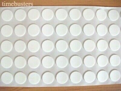 200 Double Sided Sticky 3D Effect Stick on Craft Foam Dots/Pads/Discs 18mm x 1mm