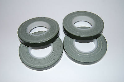 FOUR x Green Florist POT tape 9mm x 10m rolls - Tool box essential for floriists
