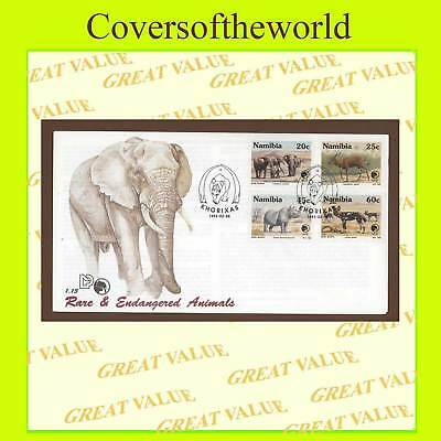 Namibia 1993 Endangered/Rare Animals  First Day Cover