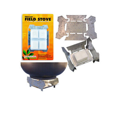 Fold Flat Tempered Survival & Emergency Stove - 4 Fuel