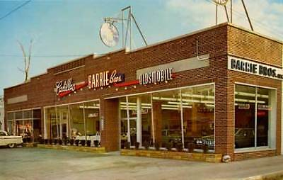 Patchogue NY Cadillac Olds Car Dealership Photograph