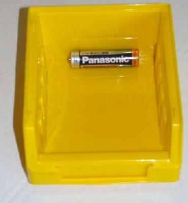 10 Size 1 Yellow Parts Storage Stacking Bin Bins Box