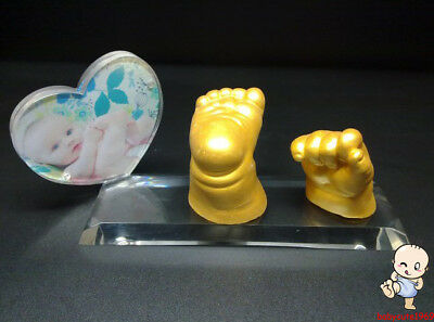 3D Baby Casting Kit Hands & Feet  acrylic plate