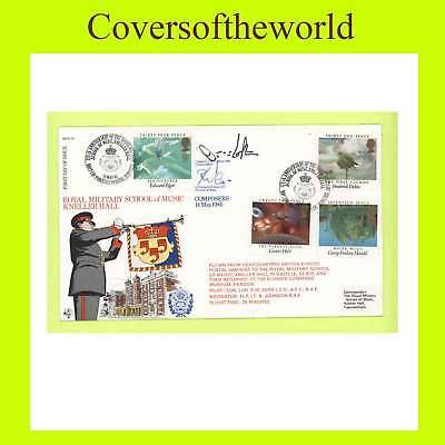 G.B. 1986 Music set Official RAF First Day Cover