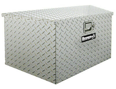 "Buyers Products 1701380, Aluminum Trailer Tongue Toolbox, 15"" H x 14.5"" D x 34""W"