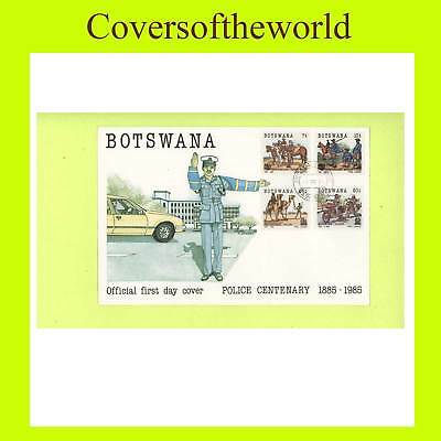Botswana 1985 Police set First Day Cover