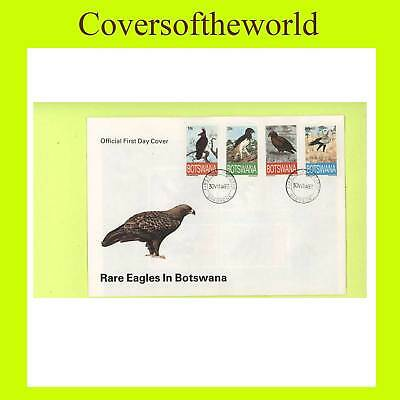 Botswana 1993 Rare Eagles set First Day Cover