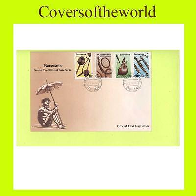 Botswana 1983 Traditional Artefacts set First Day Cover