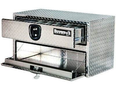 """Buyers Products 1712205, Aluminum Underbody Toolbox, 20"""" H x 18"""" D x 36"""" W"""