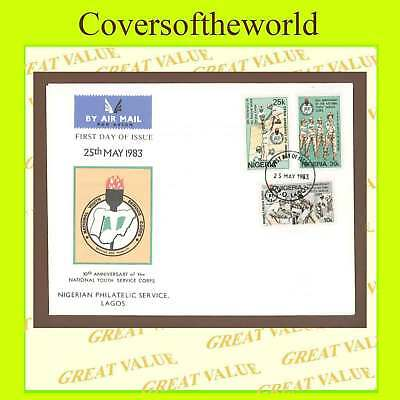 Nigeria 1983 Youth Service Corps  First Day Cover
