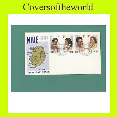 Niue 1971 Headress First Day Cover