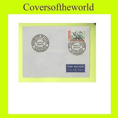 Madagascar 1960 8f 'Pepper' plant  First Day Cover