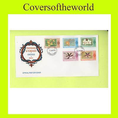Trinidad & Tobago 1978 Orchids First Day Cover