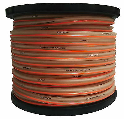 14GA : 400FT (2 spools 200ft ea) CABLE SPOOL quality 14 gauge speaker wire