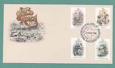 Australia 1981 Gold Rush set First Day Cover