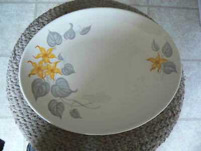 Knowles 12 5/8 oval platter (Yellow Jasmine) 1 availabl